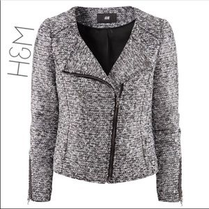 H&M Metallic Moro Jacket